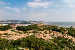 Paisaje de la isla de Putian Meizhou Fotos de archivo libres de regalías