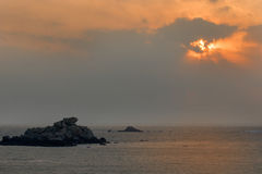 Paisaje de la isla de Putian Meizhou Fotografía de archivo