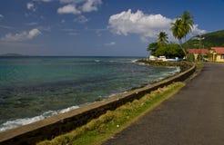 Paisaje de la isla de Tortola   Fotografía de archivo libre de regalías