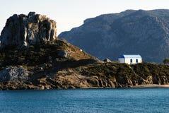 Paisaje de la isla de Kos en Grecia imágenes de archivo libres de regalías