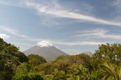 Paisaje de la isla de Ometepe imagen de archivo libre de regalías