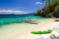 Paisaje de la isla tropical filipinas fotografía de archivo