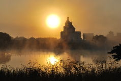 Paisaje de la mañana Fotografía de archivo libre de regalías