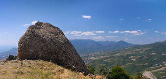Paisaje de la montaña imagenes de archivo