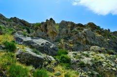 Paisaje de la montaña Foto de archivo