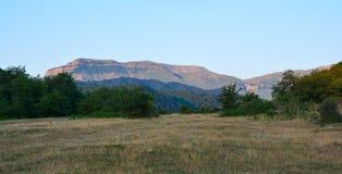 Paisaje de la montaña Fotografía de archivo