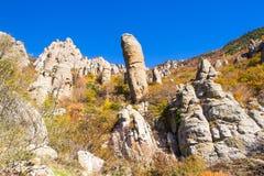 Paisaje 2 de la montaña Fotografía de archivo