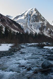 Paisaje de la montaña Fotos de archivo