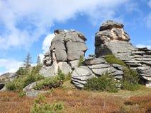 Paisaje de la montaña Imágenes de archivo libres de regalías