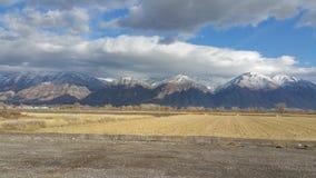 Paisaje de la montaña Fotos de archivo libres de regalías