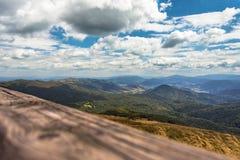 Paisaje de la montaña Fotografía de archivo libre de regalías