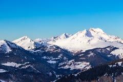 Paisaje de la montaña, Avoraz, Francia Fotografía de archivo libre de regalías