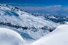 Paisaje de la montaña, Avoraz, Francia Foto de archivo