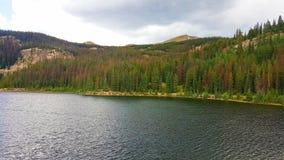 Paisaje de la montaña de Colorado imagen de archivo