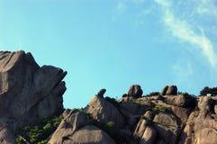 Paisaje de la montaña de Huangshan Foto de archivo