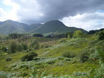 Paisaje de la montaña de la montaña imagen de archivo