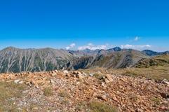 Paisaje de la montaña de Pirin Imágenes de archivo libres de regalías