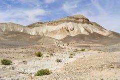 Paisaje de la montaña del desierto de Judea. imagen de archivo