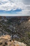 Paisaje de la montaña del desierto del parque nacional del verde del Mesa Fotografía de archivo