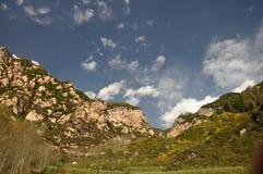 Paisaje de la montaña del otoño Imagen de archivo libre de regalías