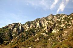 Paisaje de la montaña del otoño Foto de archivo libre de regalías