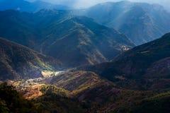 Paisaje de la montaña del verano Imagen de archivo