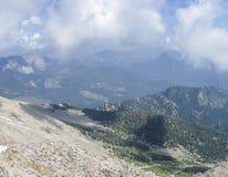Paisaje de la montaña del verano Fotografía de archivo libre de regalías