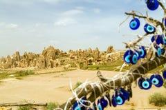 Paisaje de la montaña en Cappadocia, Turquía Imagenes de archivo