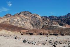 Paisaje de la montaña en Death Valley Fotos de archivo libres de regalías