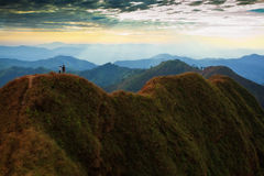 Paisaje de la montaña en Kao Chang Puek Fotografía de archivo