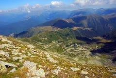 Paisaje de la montaña en Rumania Fotografía de archivo libre de regalías