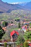 Paisaje de la montaña en Rumania imagen de archivo libre de regalías