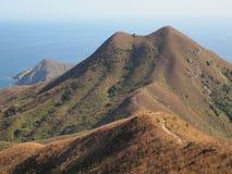 Paisaje de la montaña en Sai Kung Foto de archivo