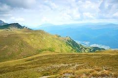 Paisaje de la montaña en Sinaia, Rumania Fotos de archivo libres de regalías