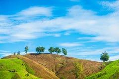 Paisaje de la montaña en Tailandia 2 Fotos de archivo libres de regalías