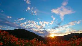Paisaje de la montaña. 4K. HD LLENO, 4096x2304. Foto de archivo libre de regalías