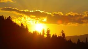 Paisaje de la montaña. 4K. HD LLENO, 4096x2304. Fotografía de archivo libre de regalías