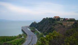 Paisaje de la montaña de Kunming Guanyin imágenes de archivo libres de regalías