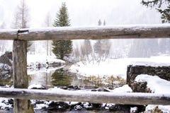 Paisaje de la montaña Nevado Imagen de archivo