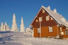 Paisaje de la montaña Nevado Foto de archivo libre de regalías