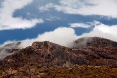 Paisaje de la montaña rocosa Imágenes de archivo libres de regalías