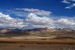 Paisaje de la montaña de Tíbet occidental Imagen de archivo