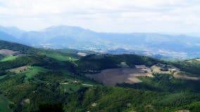 Paisaje de la naturaleza de la montaña en Italia foto de archivo libre de regalías