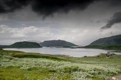 Paisaje de la naturaleza de la montaña en el verano de Morway Fotos de archivo