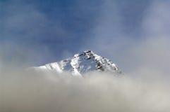 Paisaje de la nieve Fotografía de archivo