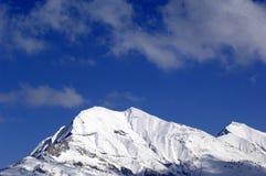 Paisaje de la nieve Foto de archivo libre de regalías