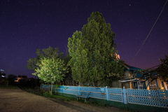 Paisaje de la noche Imagen de archivo