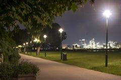 Paisaje de la noche Fotos de archivo libres de regalías