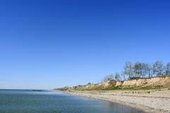 Paisaje de la orilla del agua Foto de archivo libre de regalías