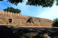 Paisaje de la pared del fuerte Foto de archivo libre de regalías